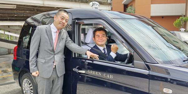 株式会社 グリーンキャブ【タクシードライバー】の求人募集画像
