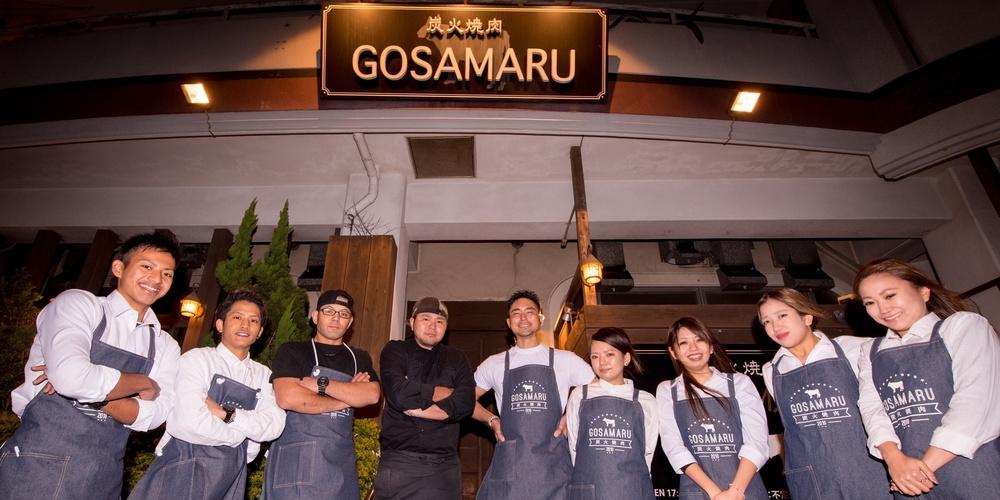 炭火焼肉GOSAMARU【ホールスタッフ】の求人募集画像