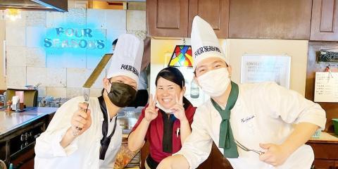 鉄板焼ステーキハウス 四季【調理スタッフ(男女)】の求人募集画像