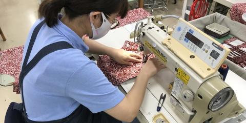 株式会社 ニチハン繊維【縫製スタッフ】の求人募集画像